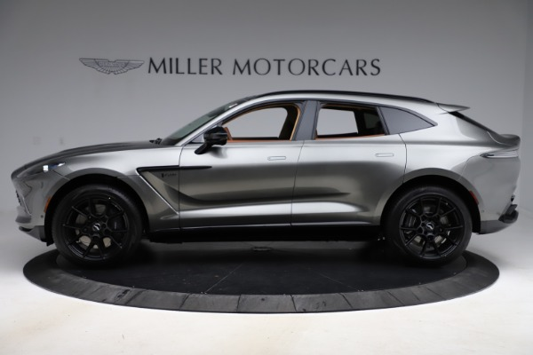 New 2021 Aston Martin DBX for sale $226,136 at Pagani of Greenwich in Greenwich CT 06830 2