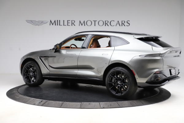 New 2021 Aston Martin DBX for sale $226,136 at Pagani of Greenwich in Greenwich CT 06830 3