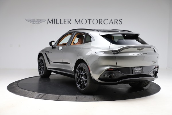New 2021 Aston Martin DBX for sale $226,136 at Pagani of Greenwich in Greenwich CT 06830 4