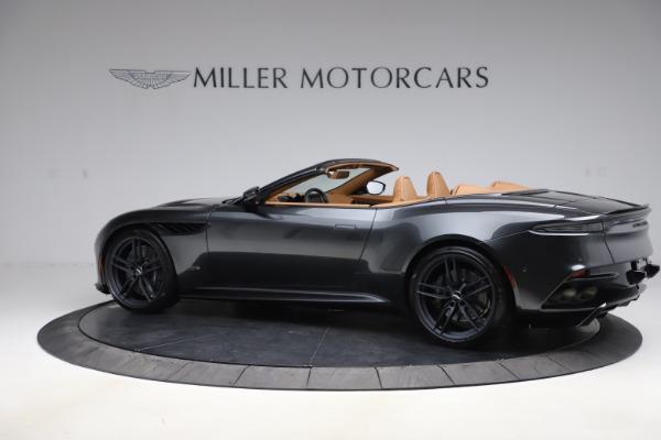 New 2021 Aston Martin DBS Superleggera Volante Convertible for sale $402,786 at Pagani of Greenwich in Greenwich CT 06830 3