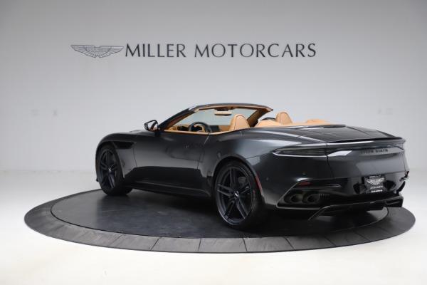 New 2021 Aston Martin DBS Superleggera Volante Convertible for sale $402,786 at Pagani of Greenwich in Greenwich CT 06830 4