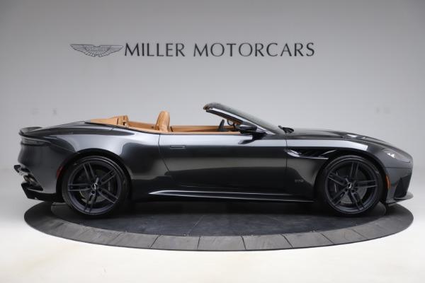 New 2021 Aston Martin DBS Superleggera Volante Convertible for sale $402,786 at Pagani of Greenwich in Greenwich CT 06830 8