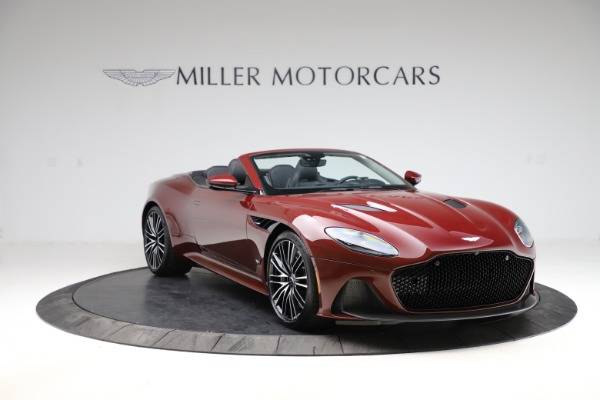 New 2021 Aston Martin DBS Superleggera Volante Convertible for sale $362,486 at Pagani of Greenwich in Greenwich CT 06830 10