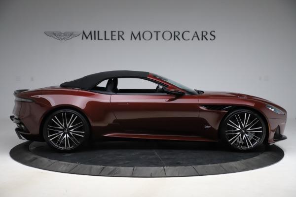 New 2021 Aston Martin DBS Superleggera Volante Convertible for sale $362,486 at Pagani of Greenwich in Greenwich CT 06830 12