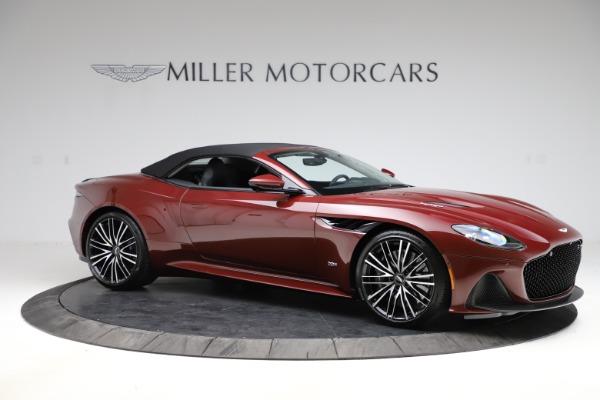 New 2021 Aston Martin DBS Superleggera Volante Convertible for sale $362,486 at Pagani of Greenwich in Greenwich CT 06830 13