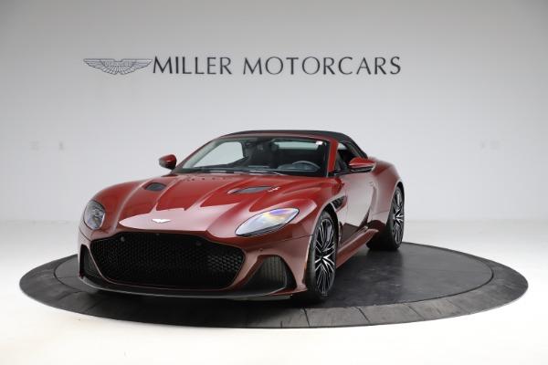 New 2021 Aston Martin DBS Superleggera Volante Convertible for sale $362,486 at Pagani of Greenwich in Greenwich CT 06830 16