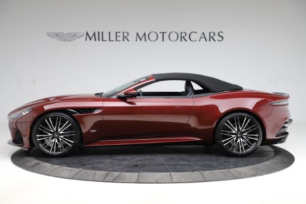 New 2021 Aston Martin DBS Superleggera Volante Convertible for sale $362,486 at Pagani of Greenwich in Greenwich CT 06830 17