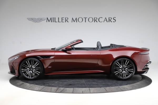 New 2021 Aston Martin DBS Superleggera Volante Convertible for sale $362,486 at Pagani of Greenwich in Greenwich CT 06830 2