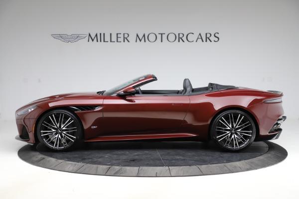 New 2021 Aston Martin DBS Superleggera Volante for sale $362,486 at Pagani of Greenwich in Greenwich CT 06830 2