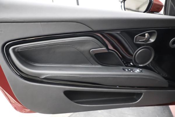 New 2021 Aston Martin DBS Superleggera Volante for sale $362,486 at Pagani of Greenwich in Greenwich CT 06830 23