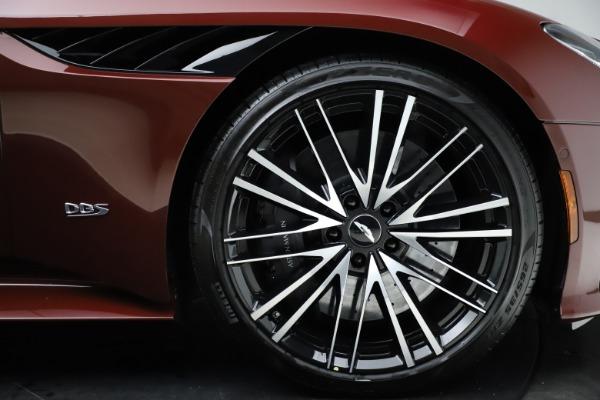 New 2021 Aston Martin DBS Superleggera Volante Convertible for sale $362,486 at Pagani of Greenwich in Greenwich CT 06830 24