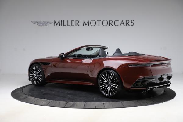 New 2021 Aston Martin DBS Superleggera Volante Convertible for sale $362,486 at Pagani of Greenwich in Greenwich CT 06830 3