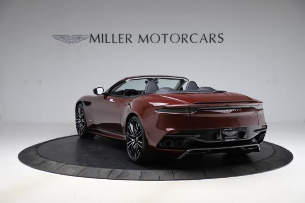 New 2021 Aston Martin DBS Superleggera Volante Convertible for sale $362,486 at Pagani of Greenwich in Greenwich CT 06830 4
