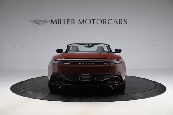 New 2021 Aston Martin DBS Superleggera Volante Convertible for sale $362,486 at Pagani of Greenwich in Greenwich CT 06830 5