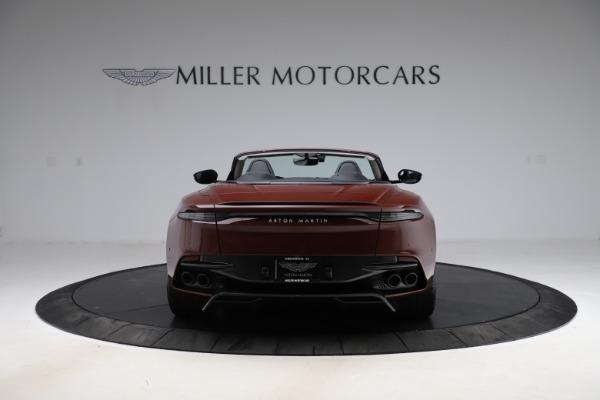 New 2021 Aston Martin DBS Superleggera Volante for sale $362,486 at Pagani of Greenwich in Greenwich CT 06830 5