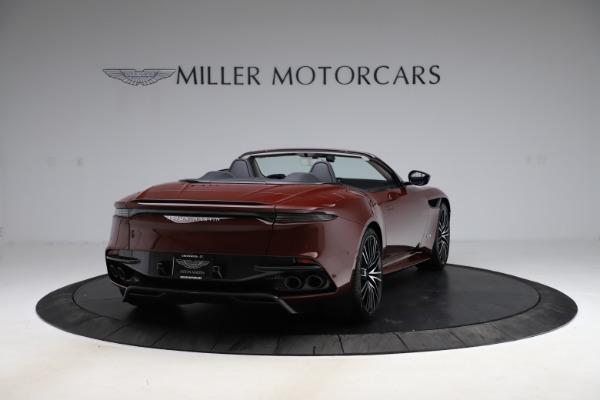 New 2021 Aston Martin DBS Superleggera Volante Convertible for sale $362,486 at Pagani of Greenwich in Greenwich CT 06830 6