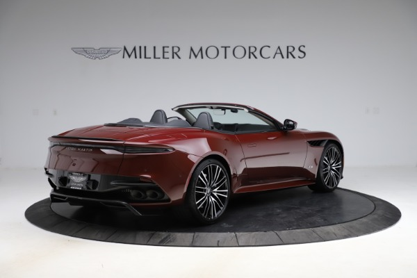 New 2021 Aston Martin DBS Superleggera Volante Convertible for sale $362,486 at Pagani of Greenwich in Greenwich CT 06830 7