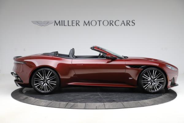 New 2021 Aston Martin DBS Superleggera Volante Convertible for sale $362,486 at Pagani of Greenwich in Greenwich CT 06830 8