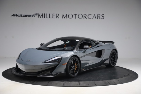 Used 2019 McLaren 600LT Coupe for sale $229,900 at Pagani of Greenwich in Greenwich CT 06830 1