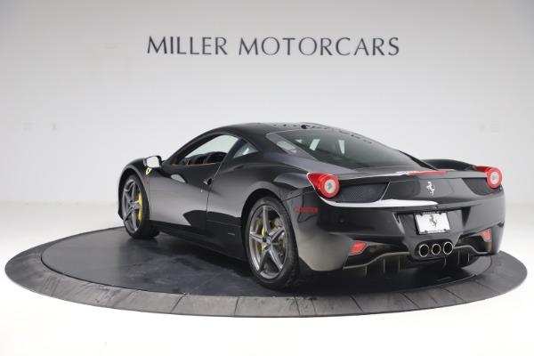 Used 2012 Ferrari 458 Italia for sale Sold at Pagani of Greenwich in Greenwich CT 06830 5