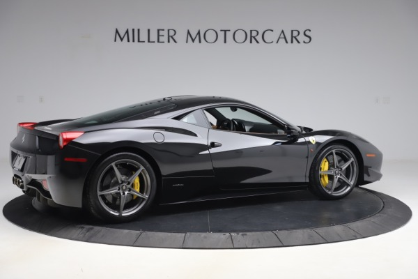 Used 2012 Ferrari 458 Italia for sale Sold at Pagani of Greenwich in Greenwich CT 06830 8