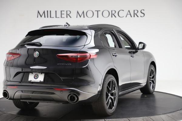 New 2020 Alfa Romeo Stelvio Ti Sport Q4 for sale Sold at Pagani of Greenwich in Greenwich CT 06830 7