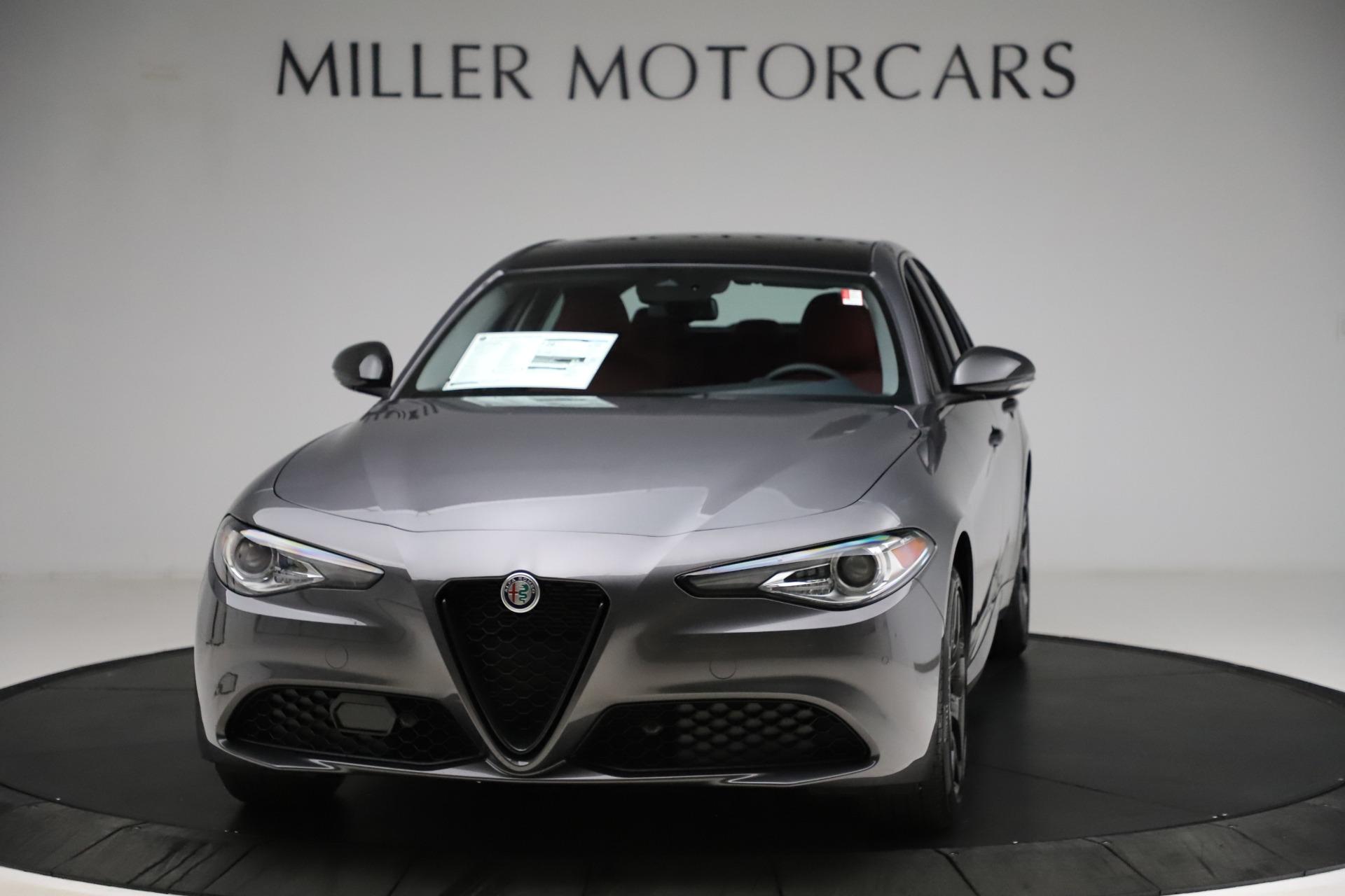 New 2021 Alfa Romeo Giulia Q4 for sale $48,035 at Pagani of Greenwich in Greenwich CT 06830 1