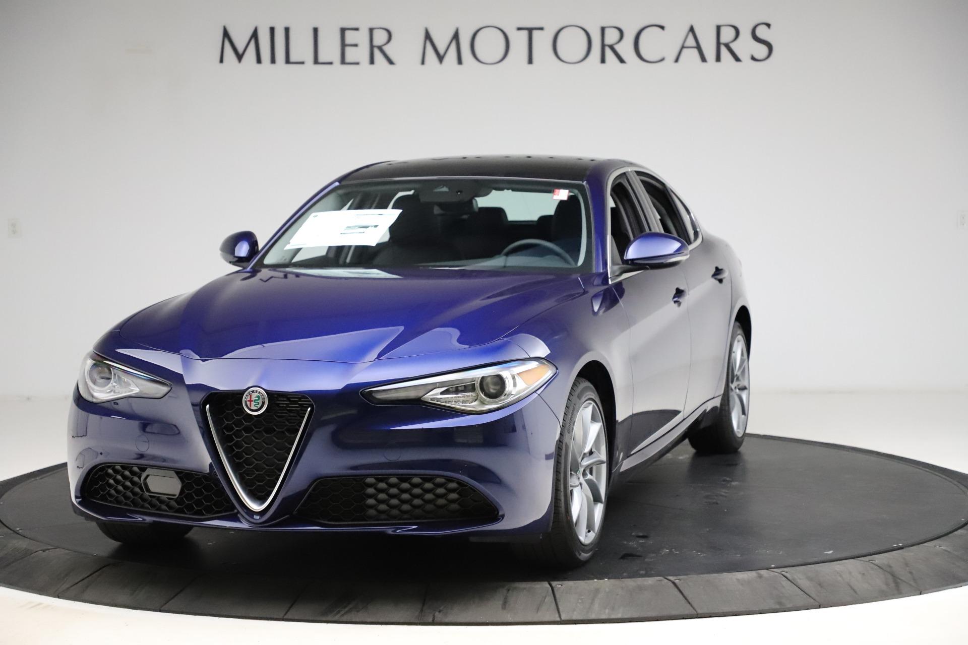 New 2021 Alfa Romeo Giulia Q4 for sale Call for price at Pagani of Greenwich in Greenwich CT 06830 1