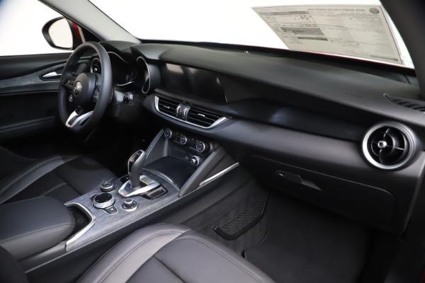 New 2021 Alfa Romeo Stelvio Q4 for sale $47,735 at Pagani of Greenwich in Greenwich CT 06830 23