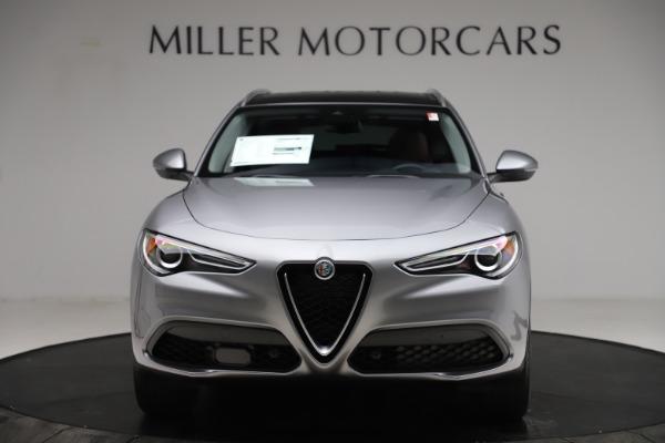 New 2021 Alfa Romeo Stelvio Q4 for sale $48,835 at Pagani of Greenwich in Greenwich CT 06830 12
