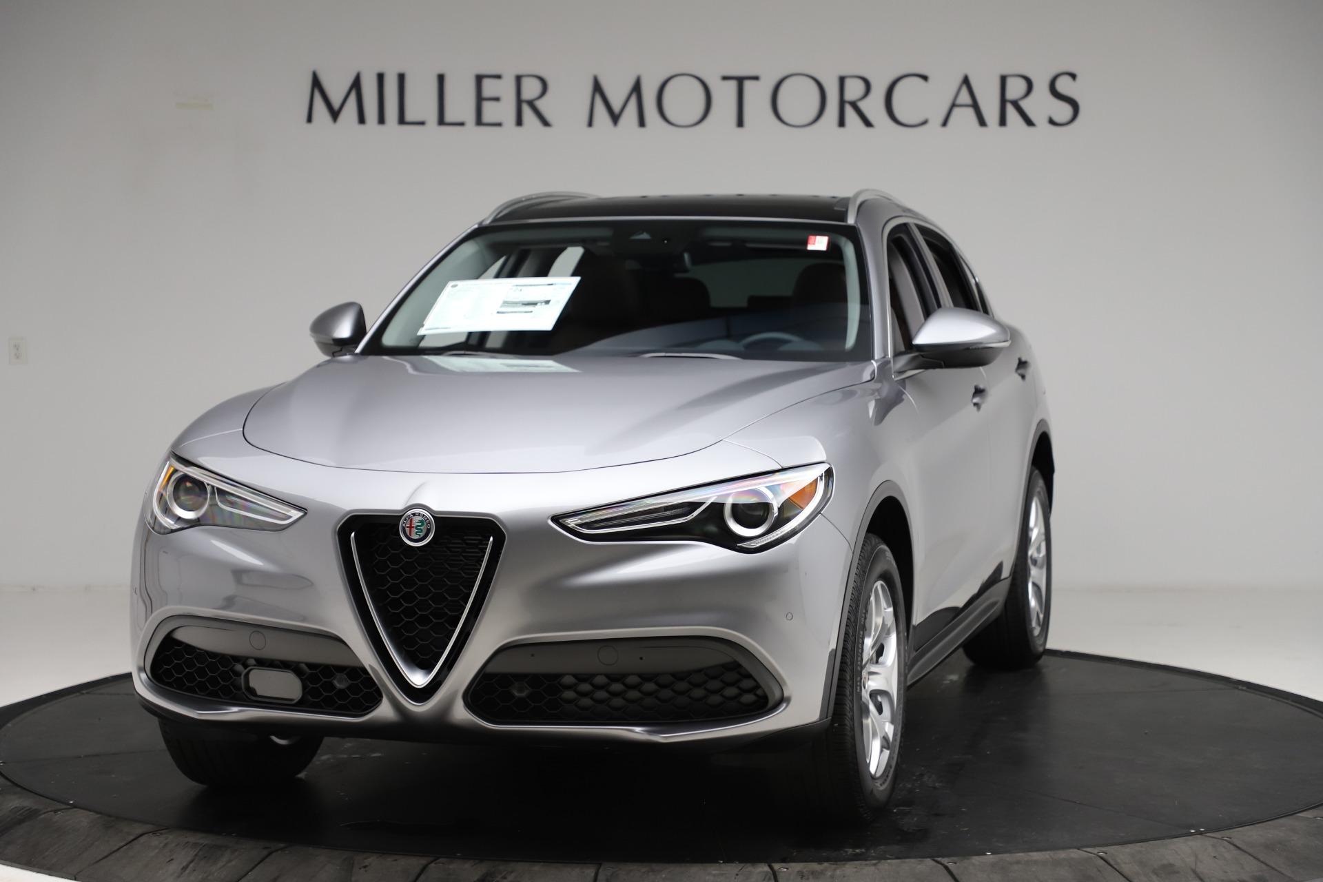 New 2021 Alfa Romeo Stelvio Q4 for sale $48,835 at Pagani of Greenwich in Greenwich CT 06830 1