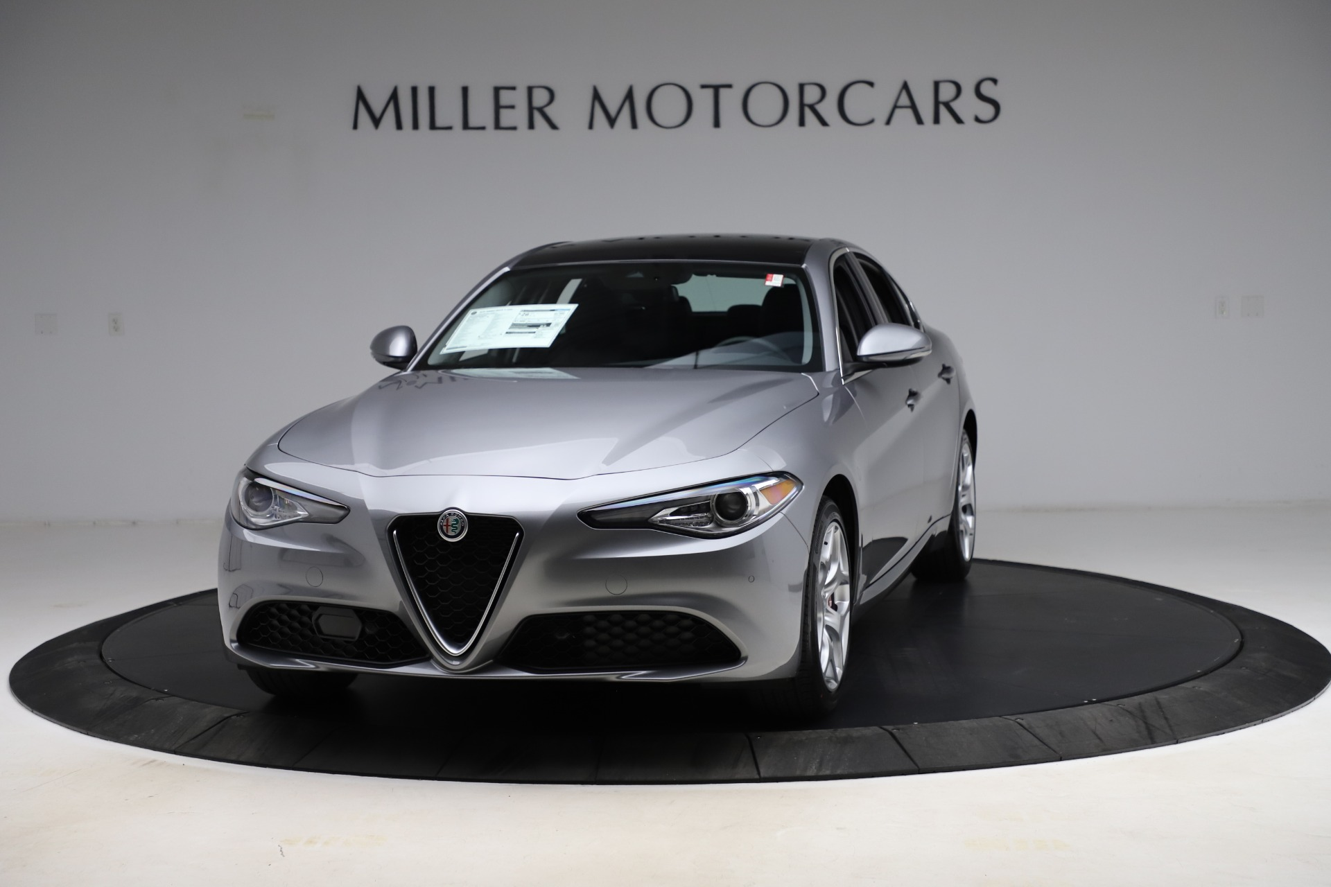 New 2021 Alfa Romeo Giulia Ti Q4 for sale Call for price at Pagani of Greenwich in Greenwich CT 06830 1