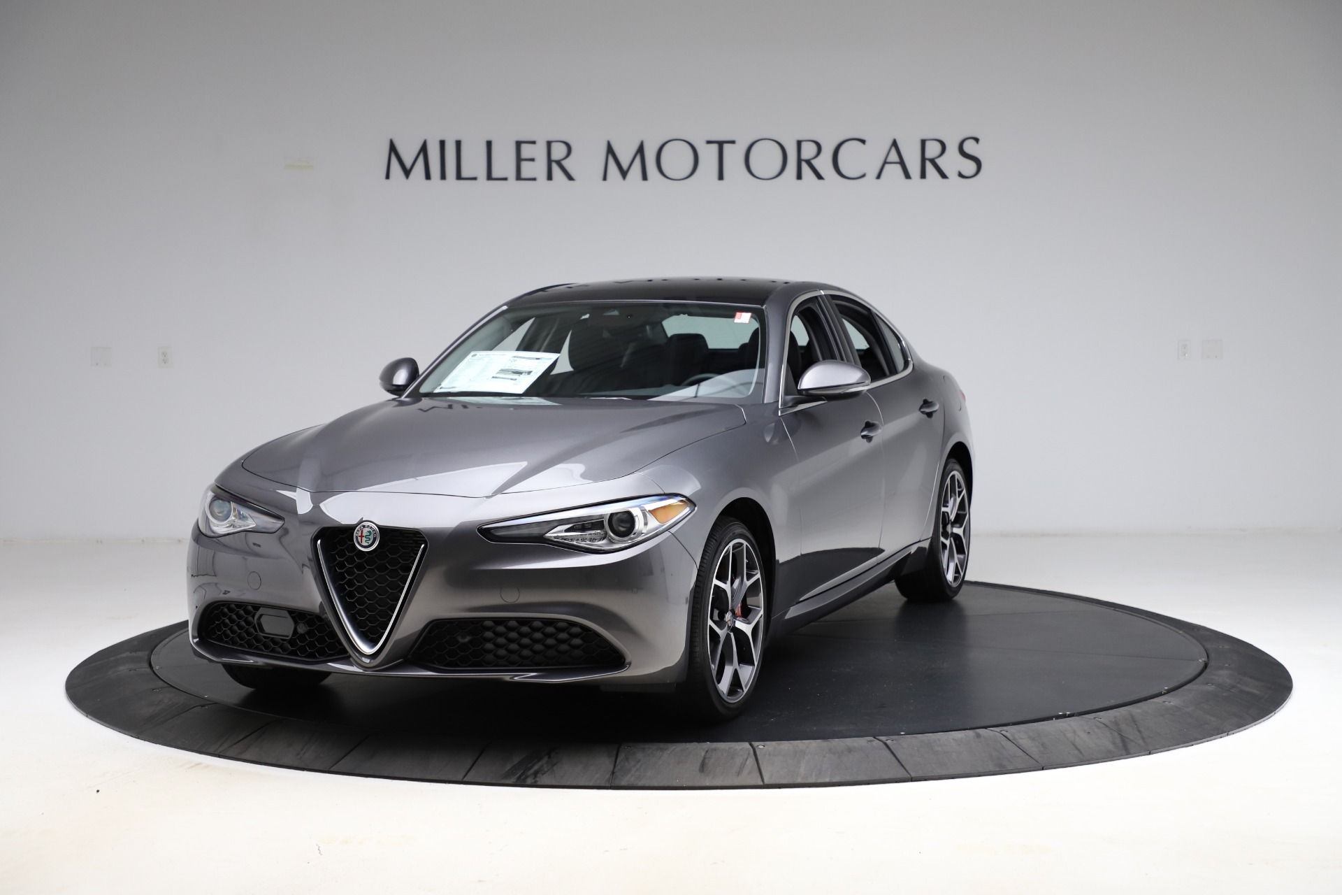 New 2021 Alfa Romeo Giulia Ti Q4 for sale $52,540 at Pagani of Greenwich in Greenwich CT 06830 1