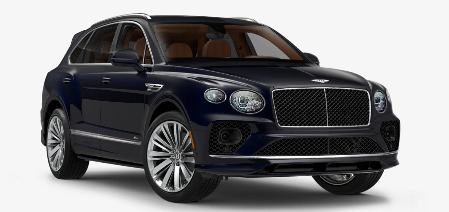 New 2021 Bentley Bentayga Speed Edition for sale $272,895 at Pagani of Greenwich in Greenwich CT 06830 1