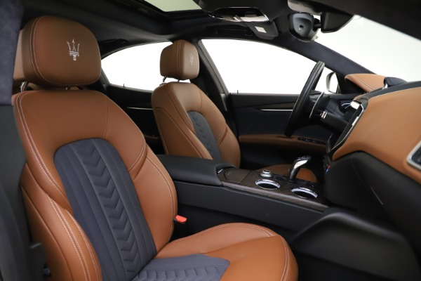 New 2021 Maserati Ghibli S Q4 GranLusso for sale Sold at Pagani of Greenwich in Greenwich CT 06830 24