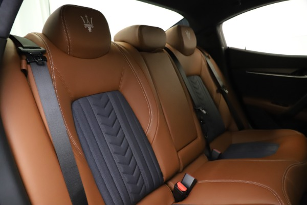 New 2021 Maserati Ghibli S Q4 GranLusso for sale Sold at Pagani of Greenwich in Greenwich CT 06830 27