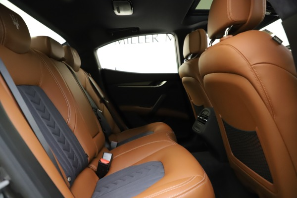 New 2021 Maserati Ghibli S Q4 GranLusso for sale Sold at Pagani of Greenwich in Greenwich CT 06830 28
