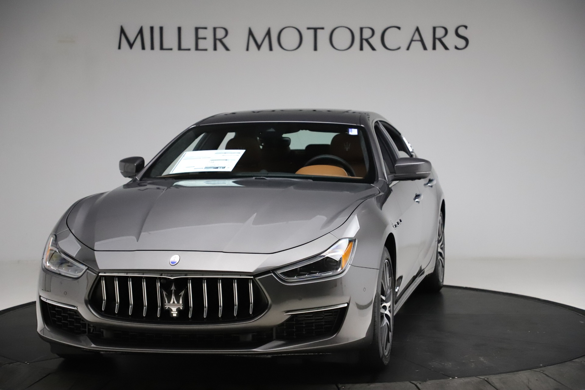 New 2021 Maserati Ghibli S Q4 GranLusso for sale Sold at Pagani of Greenwich in Greenwich CT 06830 1