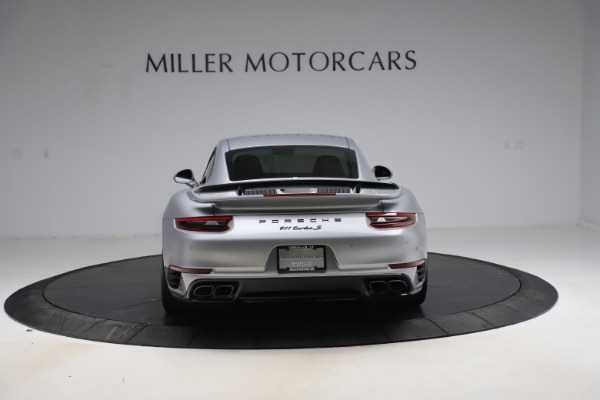 Used 2019 Porsche 911 Turbo S for sale $177,900 at Pagani of Greenwich in Greenwich CT 06830 6