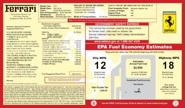 Used 2011 Ferrari 458 Italia for sale Sold at Pagani of Greenwich in Greenwich CT 06830 20
