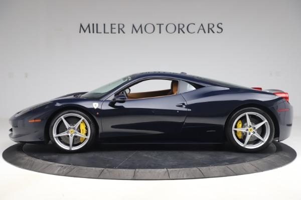Used 2011 Ferrari 458 Italia for sale Sold at Pagani of Greenwich in Greenwich CT 06830 3