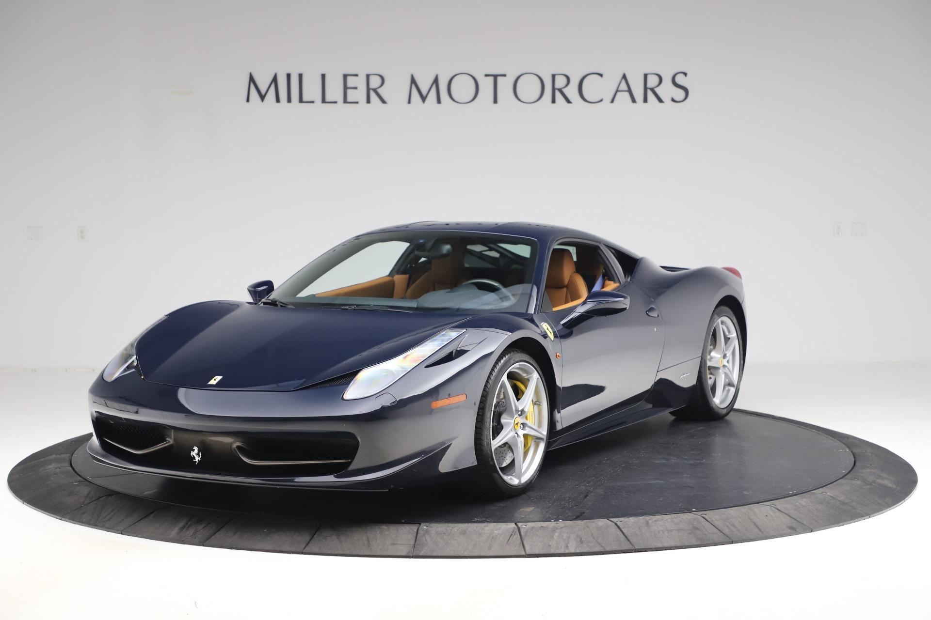 Used 2011 Ferrari 458 Italia for sale Sold at Pagani of Greenwich in Greenwich CT 06830 1
