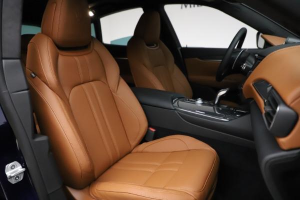 New 2021 Maserati Levante S Q4 GranSport for sale $100,185 at Pagani of Greenwich in Greenwich CT 06830 24