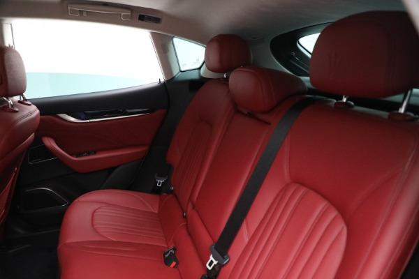 New 2021 Maserati Levante Q4 for sale Call for price at Pagani of Greenwich in Greenwich CT 06830 17