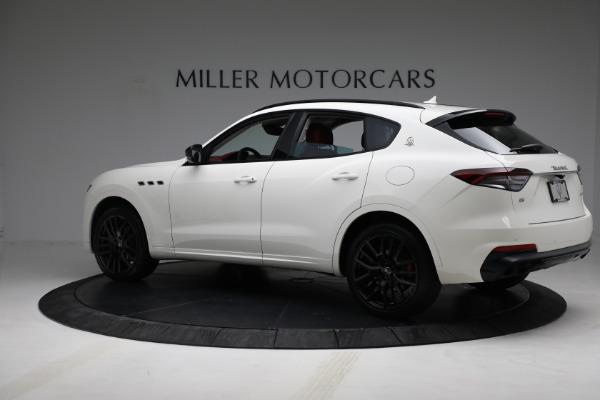 New 2021 Maserati Levante Q4 for sale Call for price at Pagani of Greenwich in Greenwich CT 06830 4