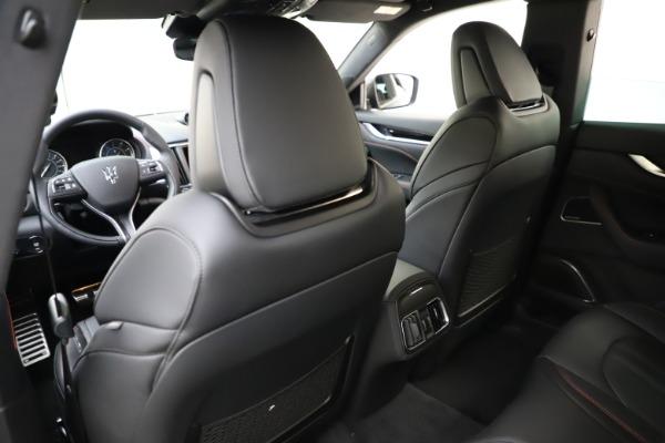New 2021 Maserati Levante Q4 GranSport for sale $92,485 at Pagani of Greenwich in Greenwich CT 06830 19
