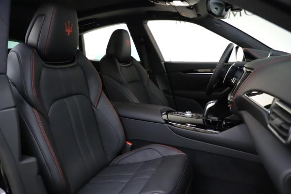 New 2021 Maserati Levante Q4 GranSport for sale $92,485 at Pagani of Greenwich in Greenwich CT 06830 21