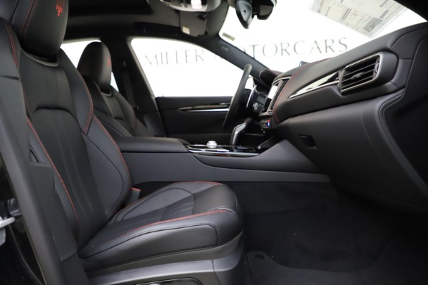 New 2021 Maserati Levante Q4 GranSport for sale $92,485 at Pagani of Greenwich in Greenwich CT 06830 22