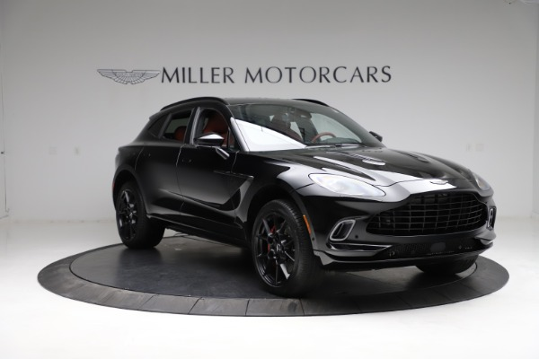 New 2021 Aston Martin DBX for sale $200,986 at Pagani of Greenwich in Greenwich CT 06830 10