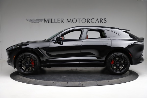 New 2021 Aston Martin DBX SUV for sale $200,986 at Pagani of Greenwich in Greenwich CT 06830 2